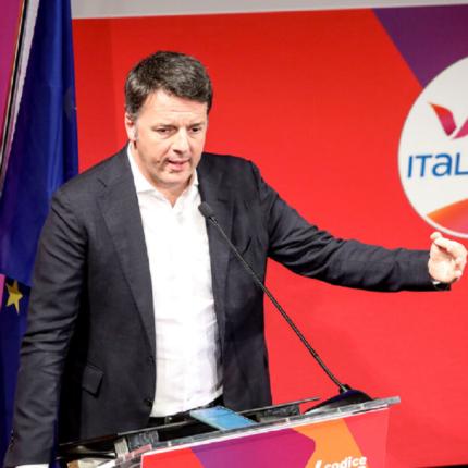 Renzi sollecita la ripartenza del calcio