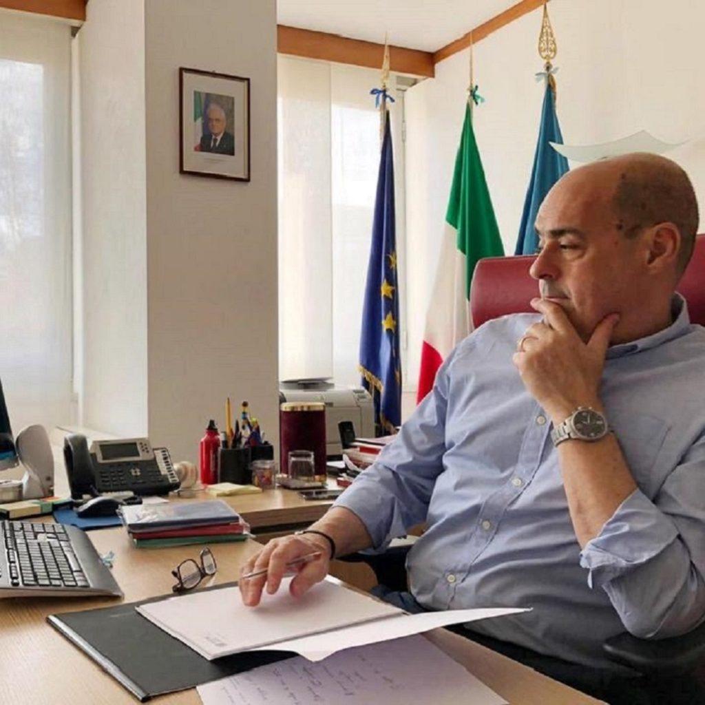 Zingaretti soddisfatto del decreto Rilancio