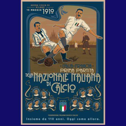 110 anni della Nazionale di calcio