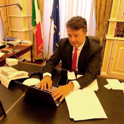 Matteo Renzi grazia Bonafede