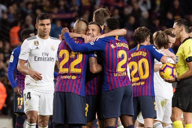 Real e Barcellona