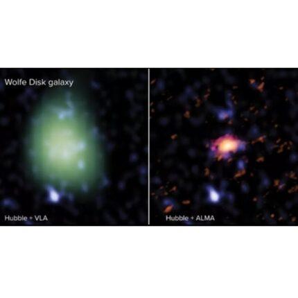 Scoperta una nuova galassia è la Dla0817g foto