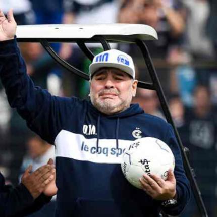 Diego Maradona verso l'addio
