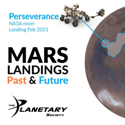 la mappa di tutte le missioni marziane by Planetary Society