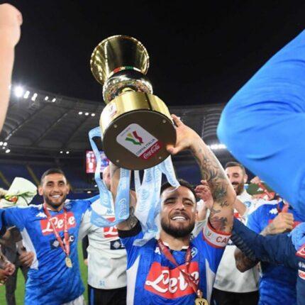 La Coppa Italia al Napoli