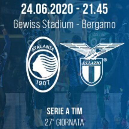 Il big match Atalanta Lazio