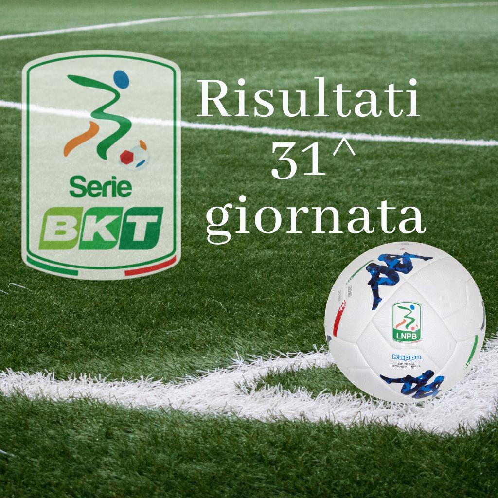 I risultati del trentunesimo turno di Serie B