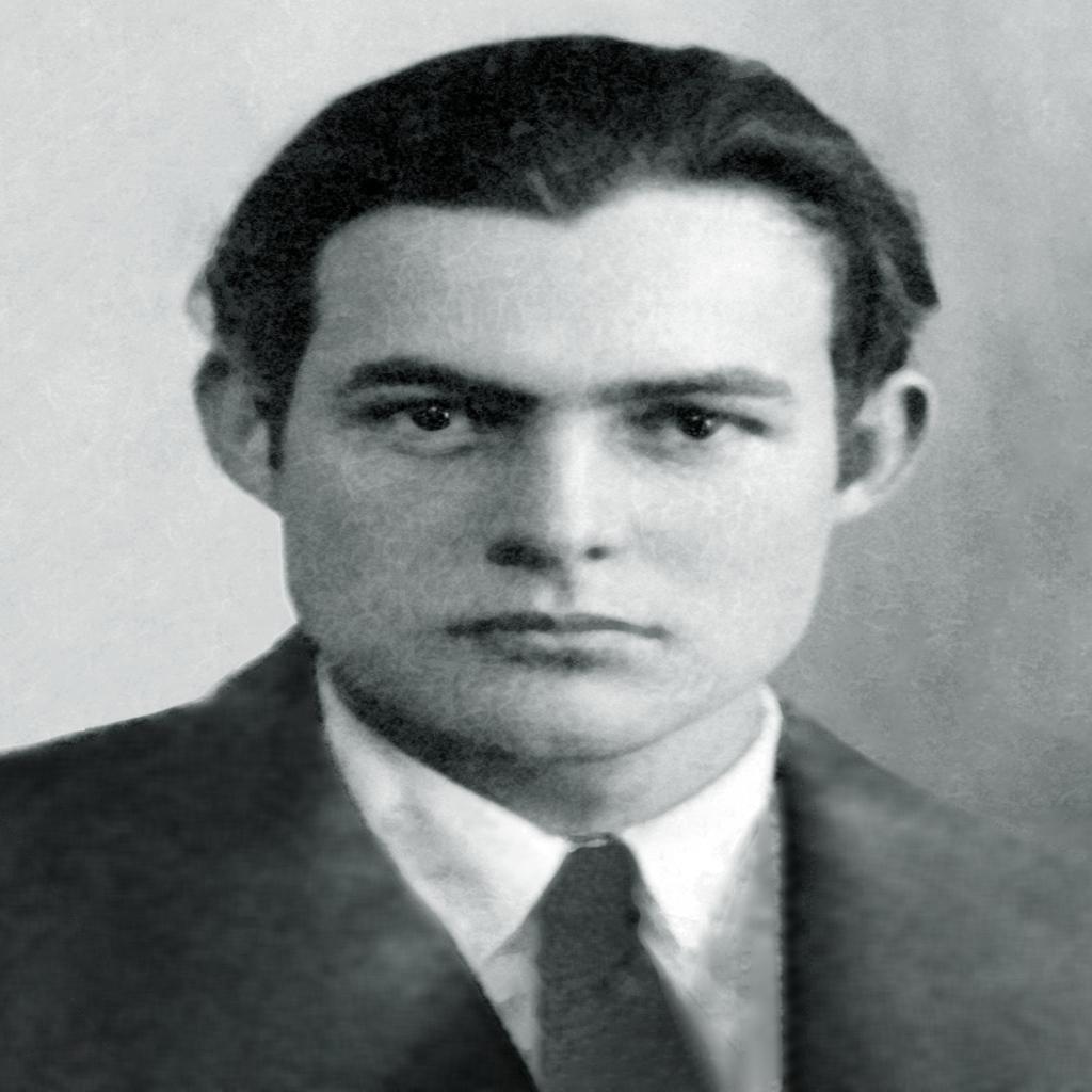 Ernest Hemingway 59 anni
