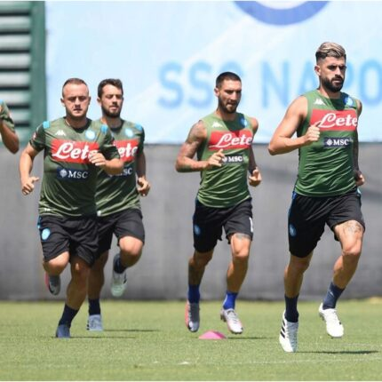Napoli in ritiro in Abruzzo
