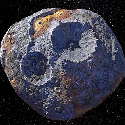 Misterioso asteroide di metallo