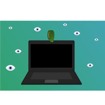 Coprire webcam del MacBook spacca il display