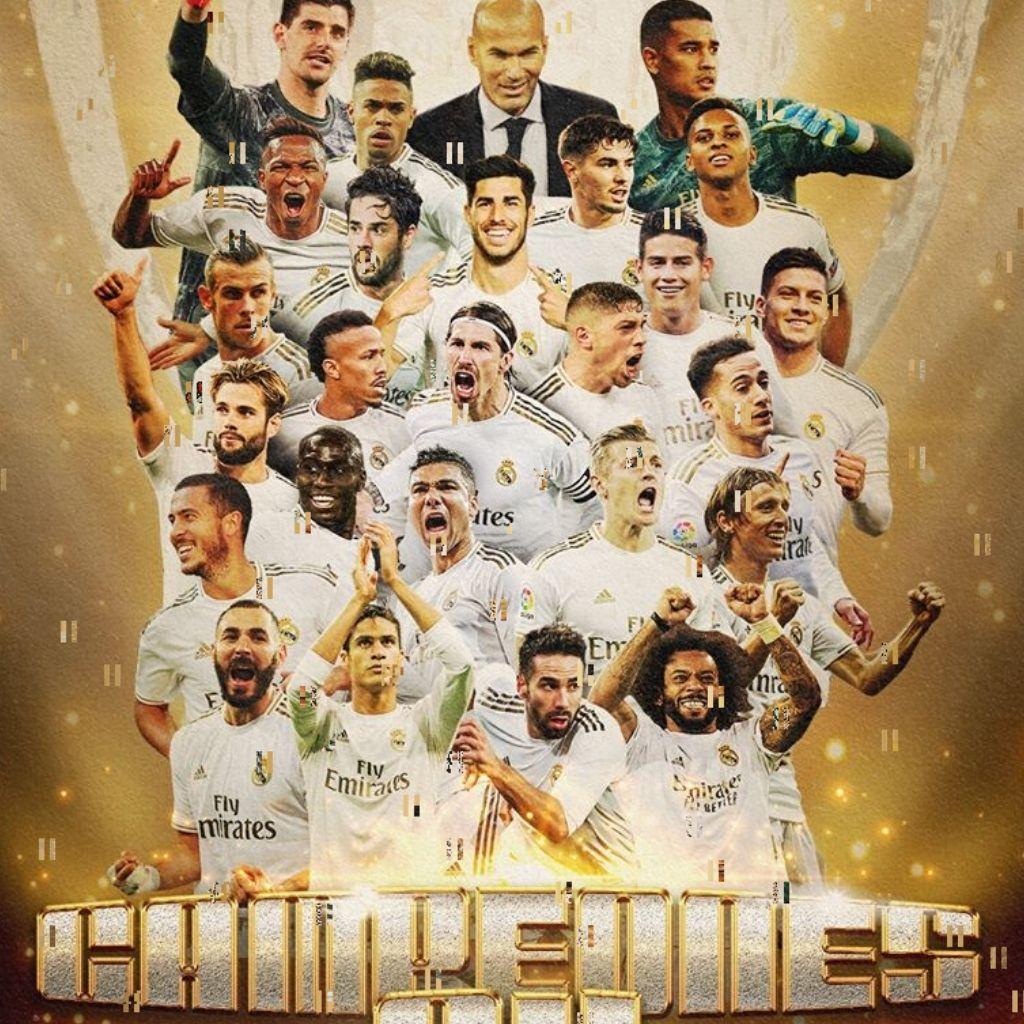 Real Madrid campione di Spagna