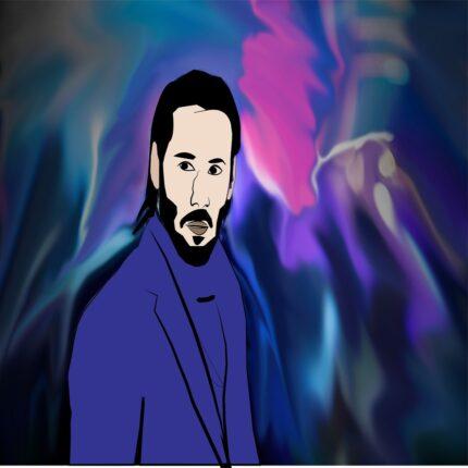 CopertinaKeanu Reeves diventa un fumetto