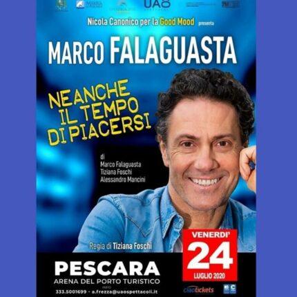 Marco Falaguasta al Porto Turistico