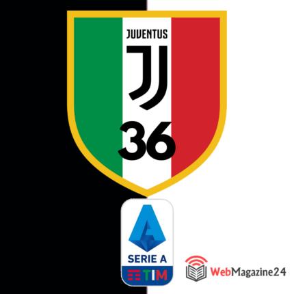 Serie A Juventus Campione d'Italia 2019 2020