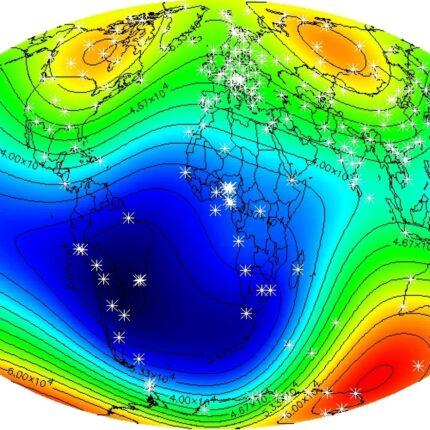 Anomalia Magnetica del Sud Atlantico