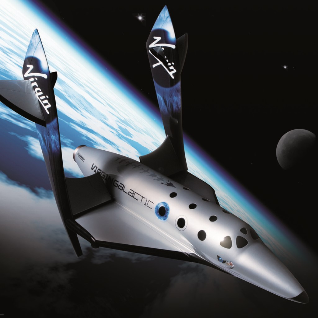 Virgin Galactic presenta Spaceship Two