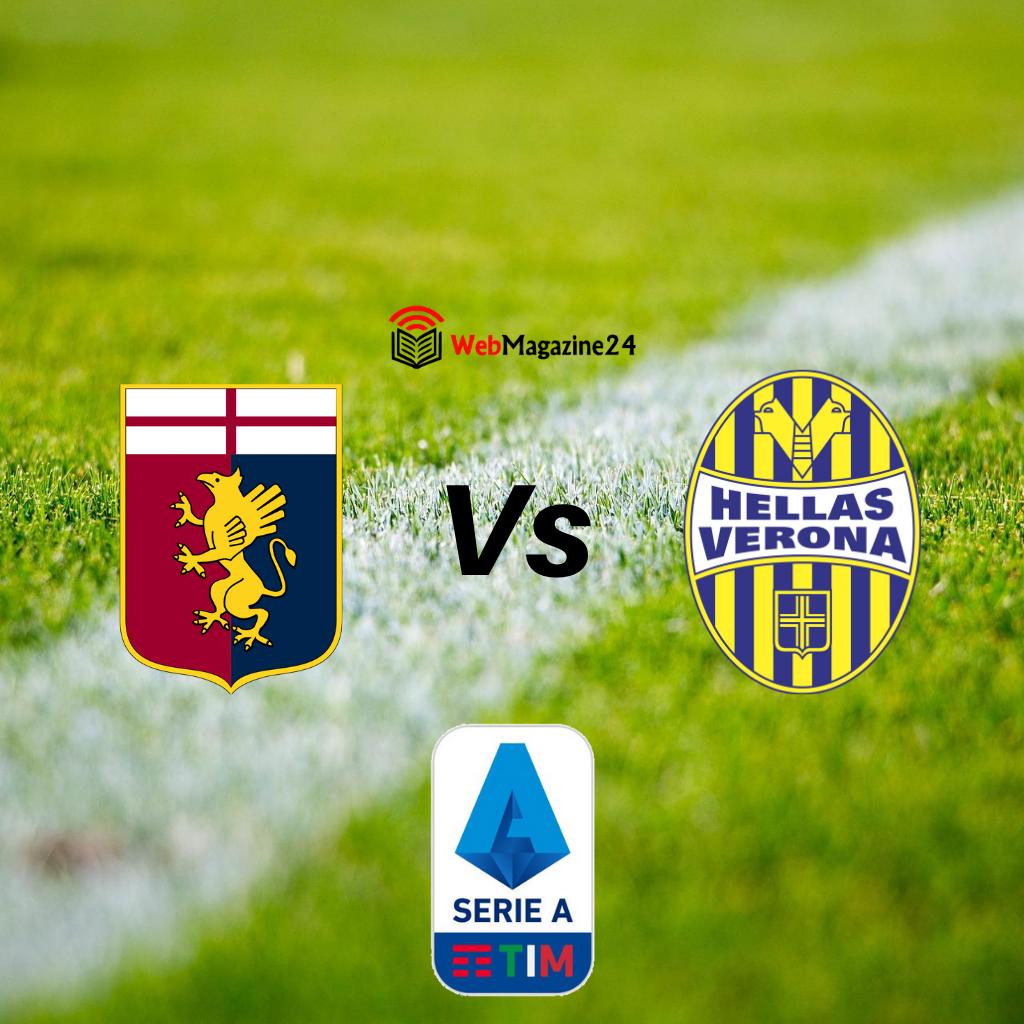 Genoa - Hellas Verona 38' giornata, probabili formazioni