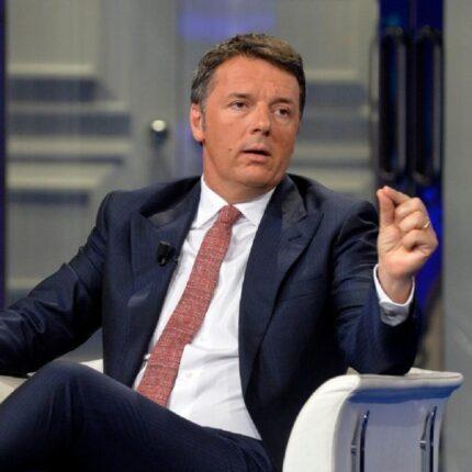 Renzi parla del nuovo ponte di Genova