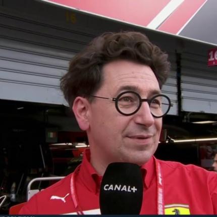 Binotto non è più direttore tecnico della Ferrari