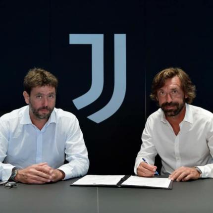 La Juventus ha un nuovo allenatore: ecco Andrea Pirlo