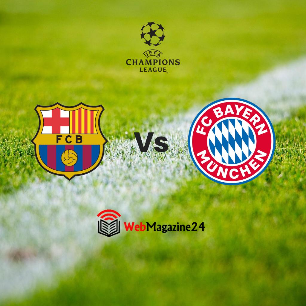 Le probabili formazioni di Barcellona - Bayern Monaco