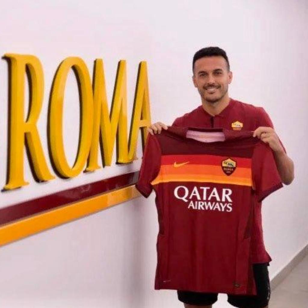 Pedro è un nuovo giocatore della Roma