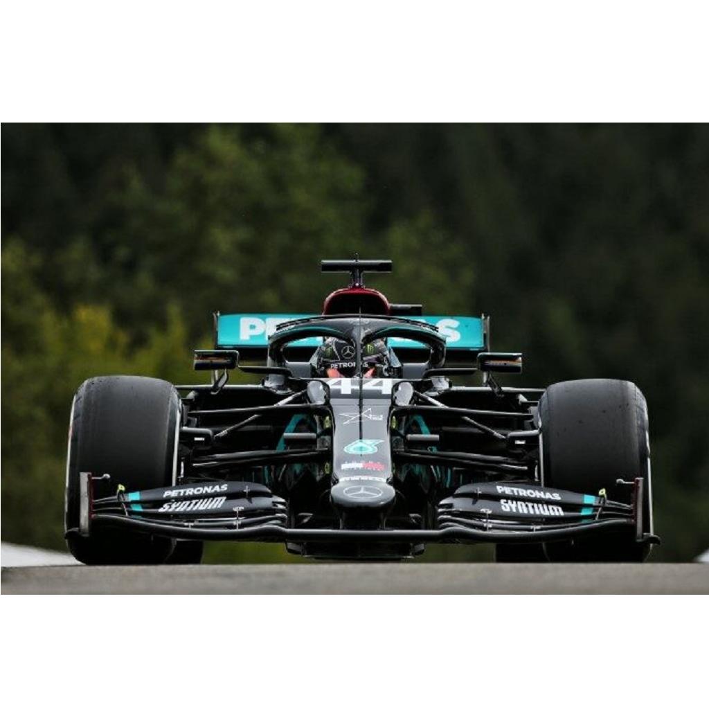 Hamilton in pole in Belgio. Distacco abissale anche su Bottas