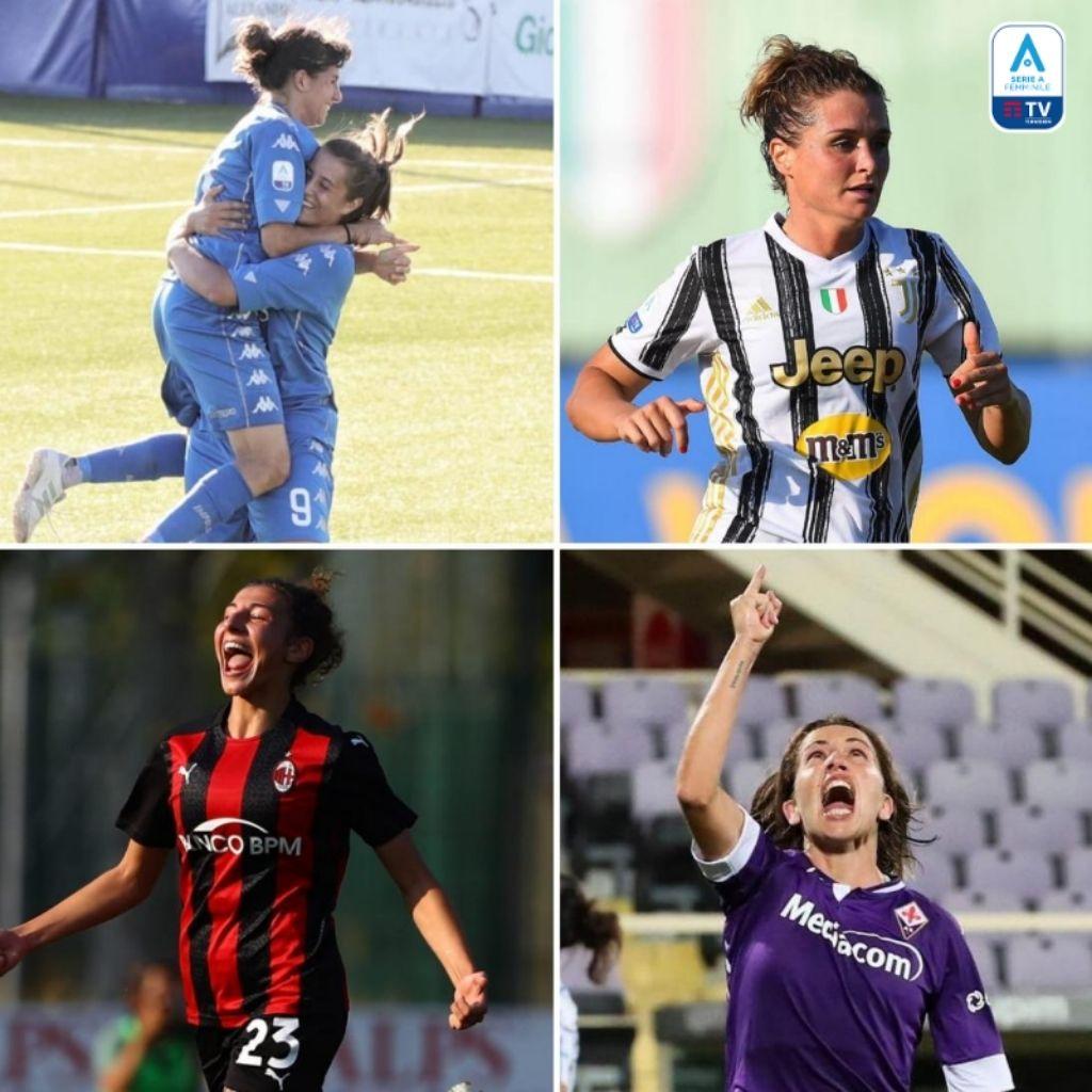 Serie A femminile terza giornata