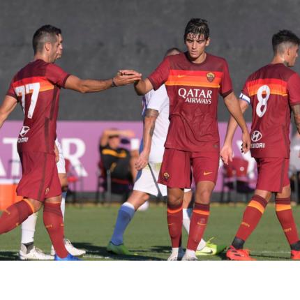 La Roma vince contro la Sambenedettese