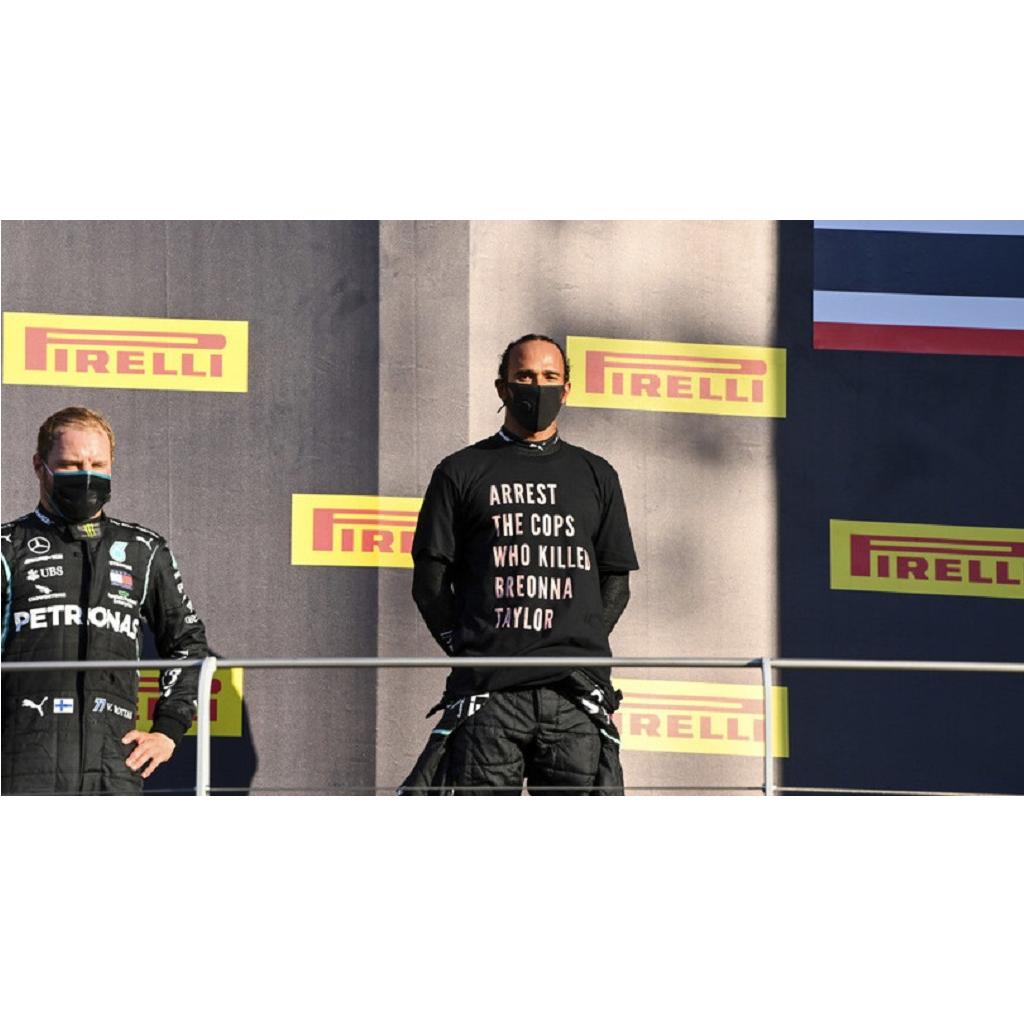 Maglia Breonna Taylor di Lewis Hamilton: nessuna indagine