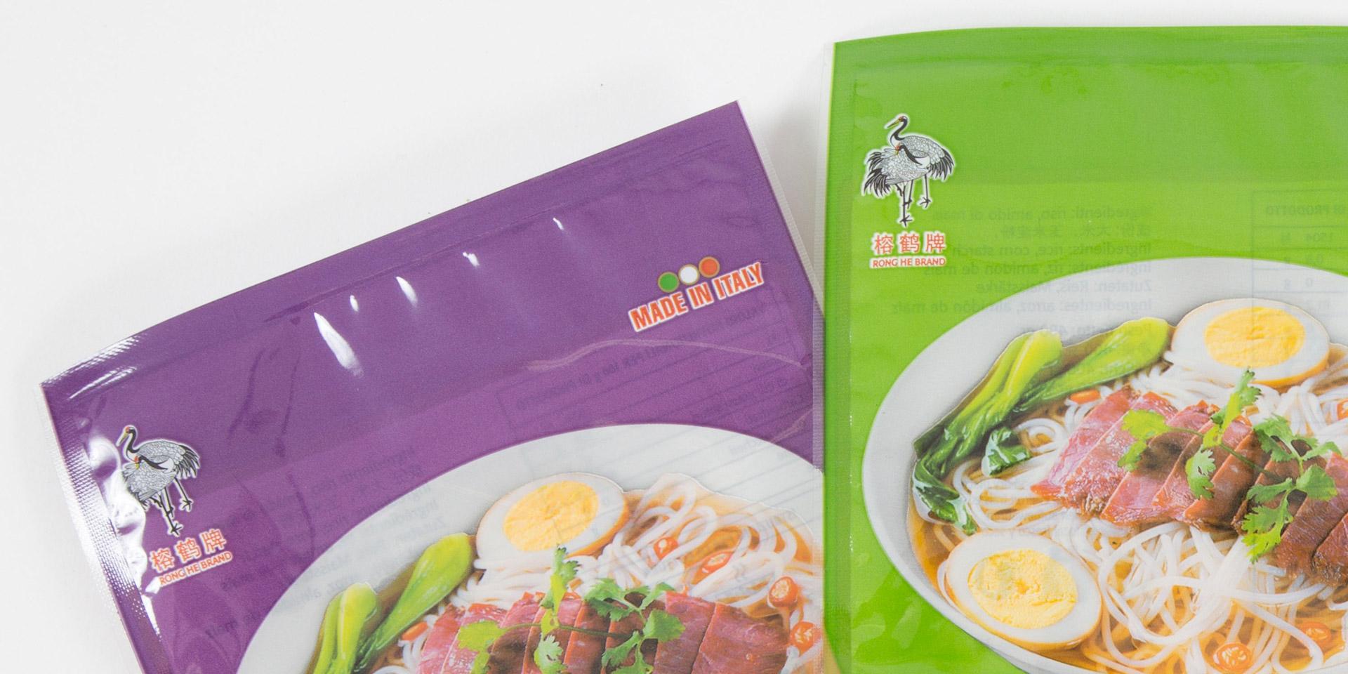 packaging dei prodotti