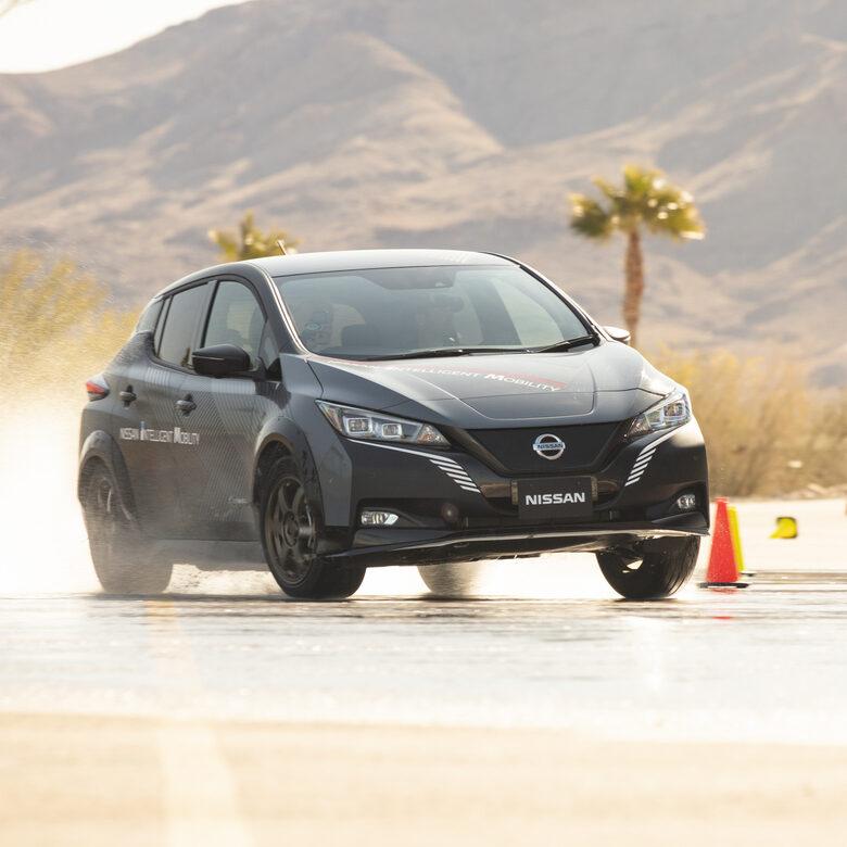 Nissan e-4ORCE: il futuro con 2 motori elettrici e trazione integrale