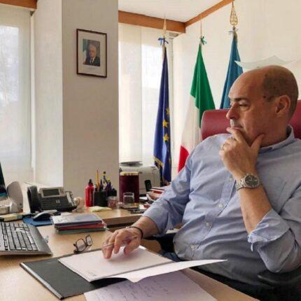 Zingaretti soddisfatto del risultato del referendum