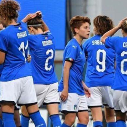 L'Italia Femminile perde contro la Danimarca