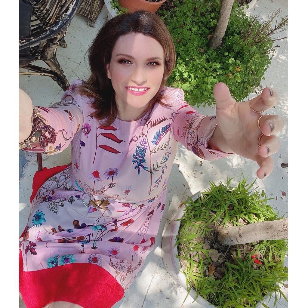 Laura Pausini e i suoi fan foto