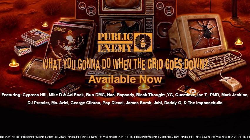 banner Public Enemy new album