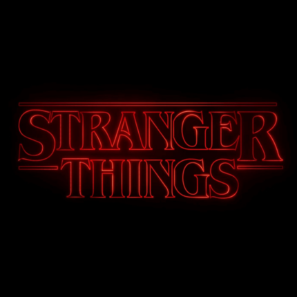 foto dal set di Stranger Things
