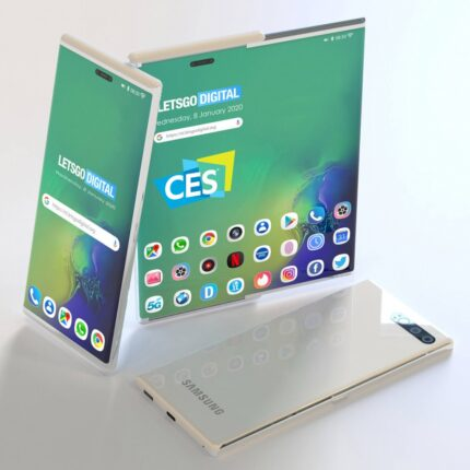 Smartphone arrotolabile Samsung? Si, ma nel 2021