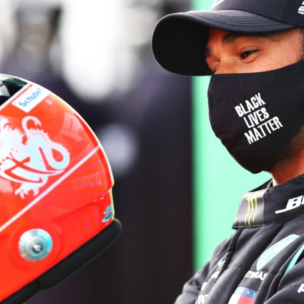 Hamilton eguaglia Schumacher