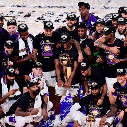 Los Angeles Lakers Campioni NBA