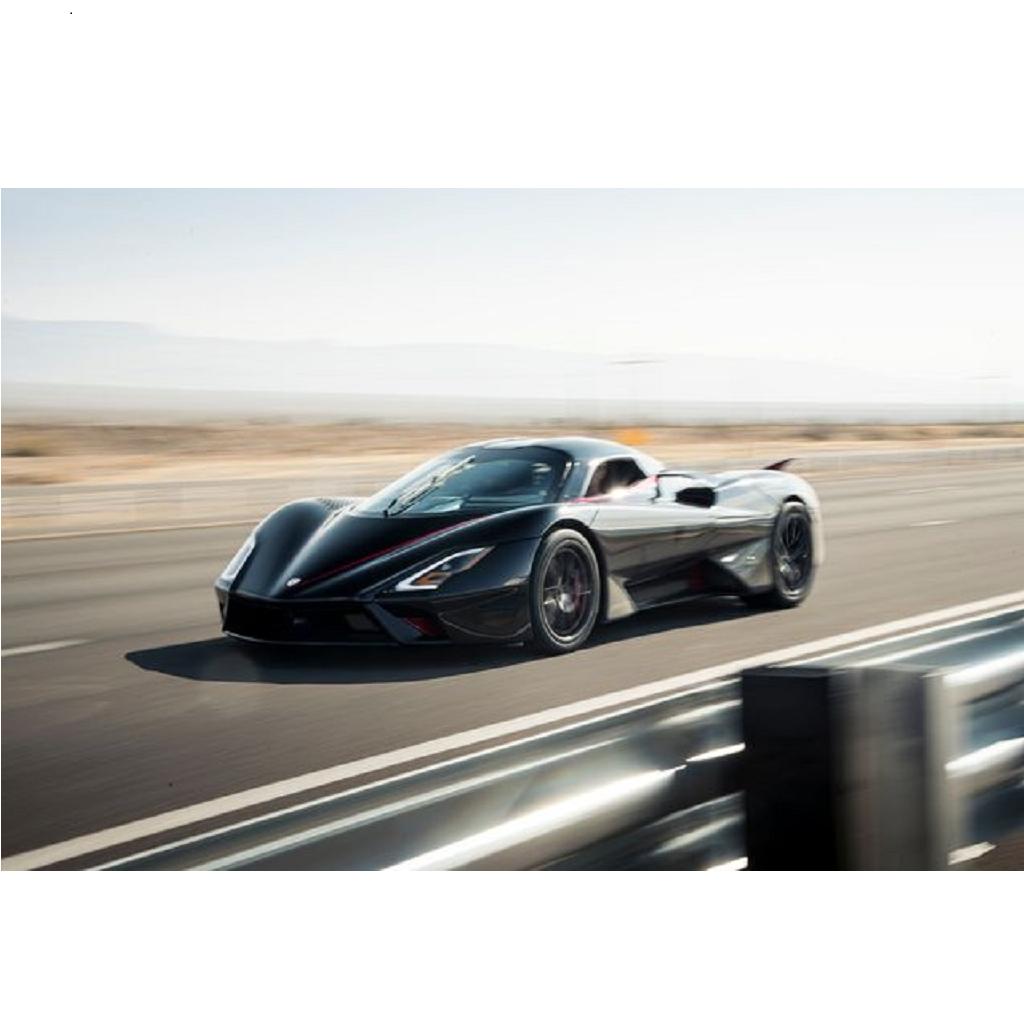 Record velocità SSC Tuatara: 532,9 km/h raggiunti (VIDEO)