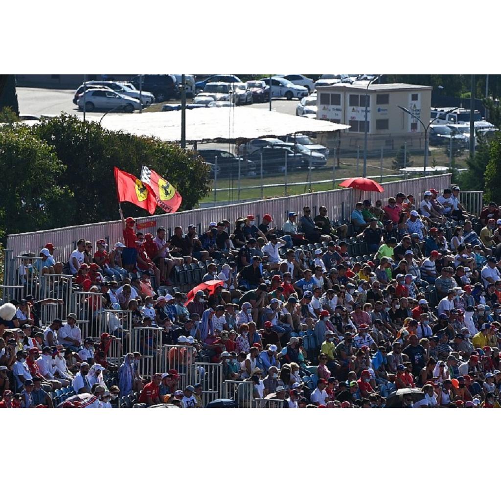 GP Portogallo F1: numero spettatori in tribuna ridotto