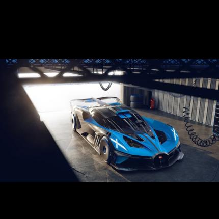Bugatti Bolide: hypercar da 500 km/h con record al Nordschleife