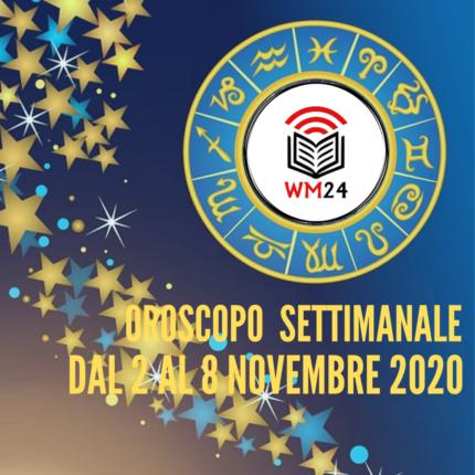 Oroscopo settimanale dal 2 al 8 Novembre 2020