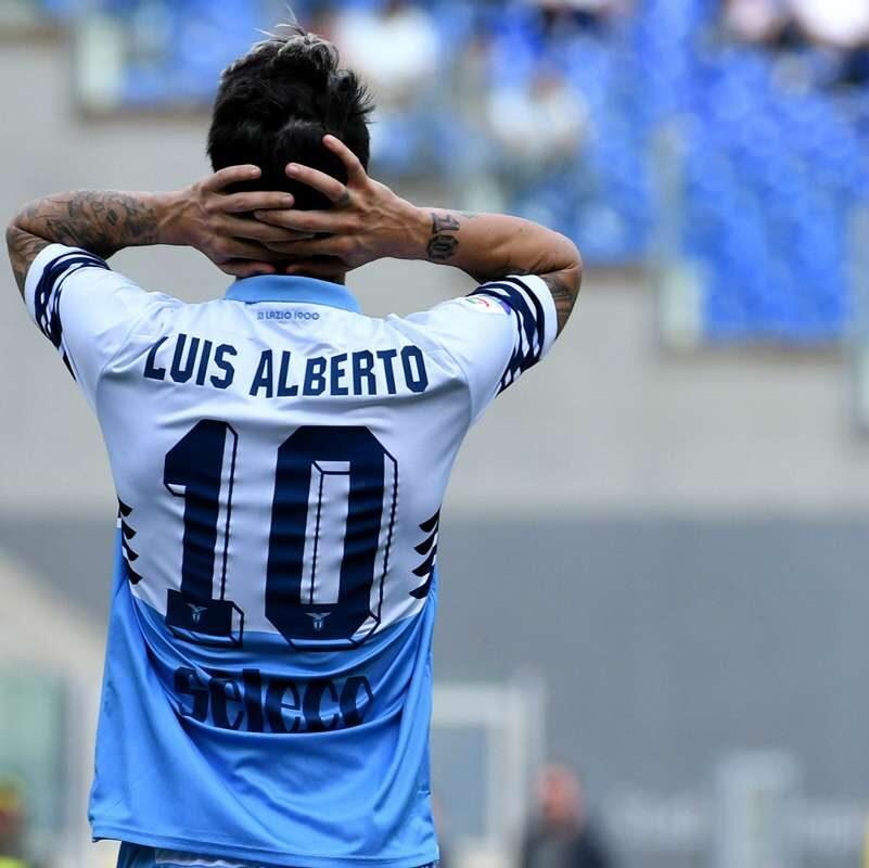 Le scuse di Luis Alberto ai tifosi della Lazio