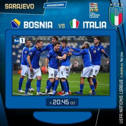 Bosnia Italia una vittoria determinante