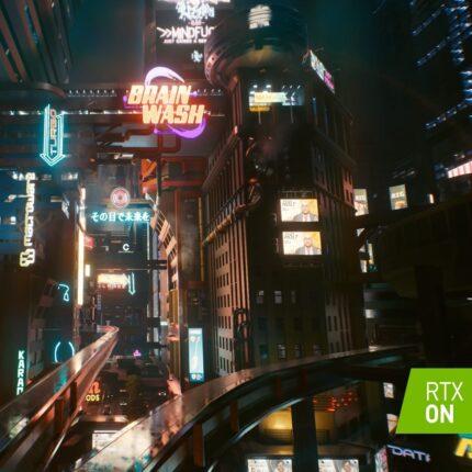 Cyberpunk 2077 NVIDIA RTX