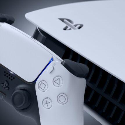 PS5 dettaglio console