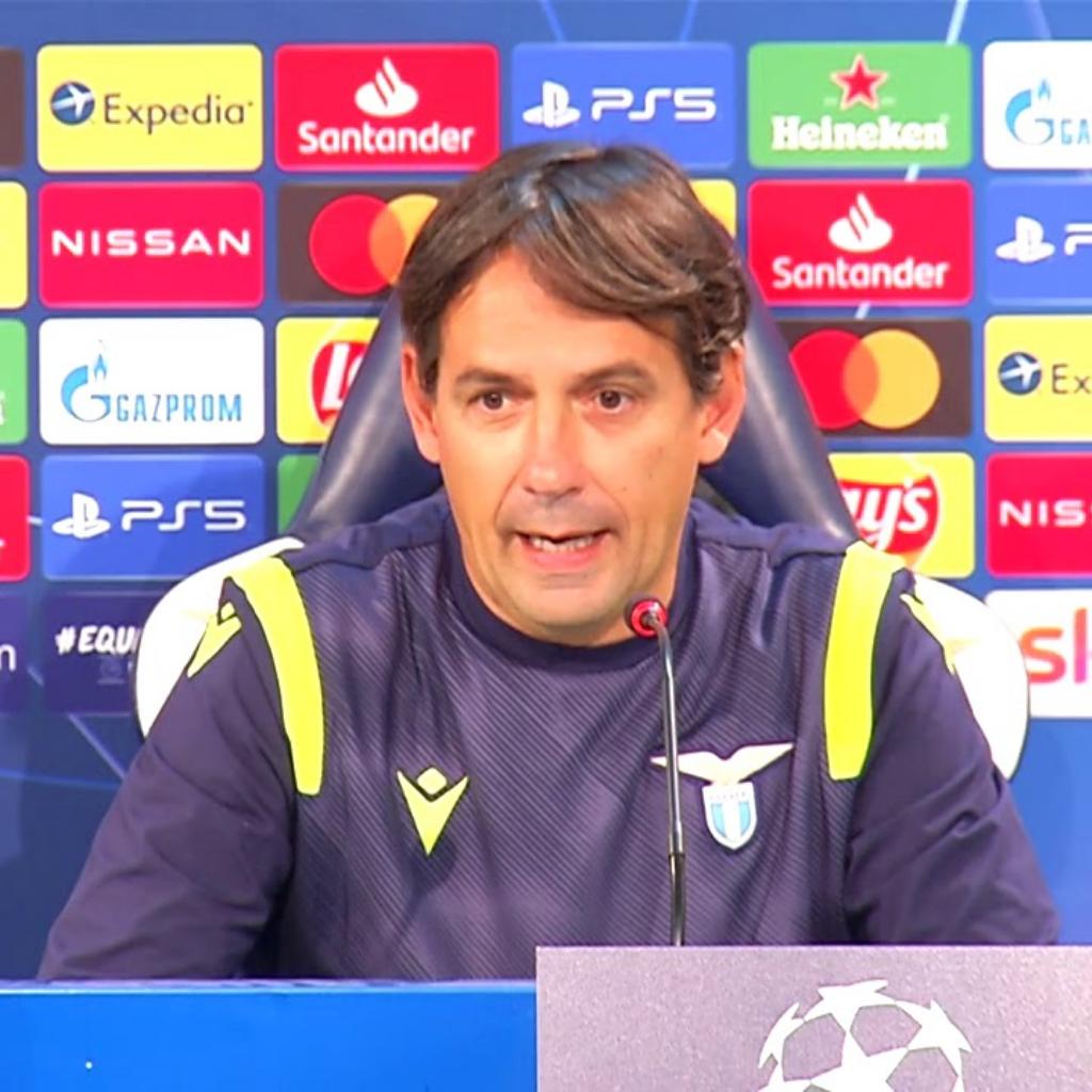 Le parole di Simone Inzaghi al termine di Lazio - Zenit